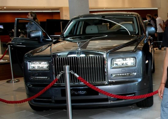 BMW Welt: Rolls Royce Phantom