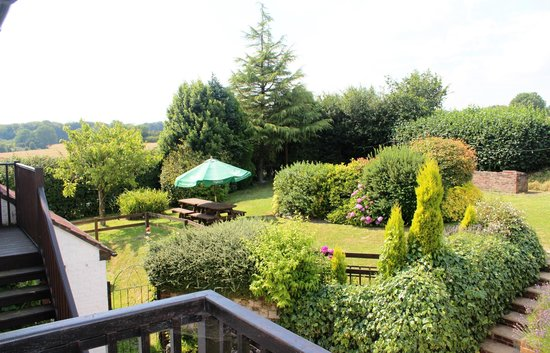 The Trooper Inn: The gardens from Oakshott balcony