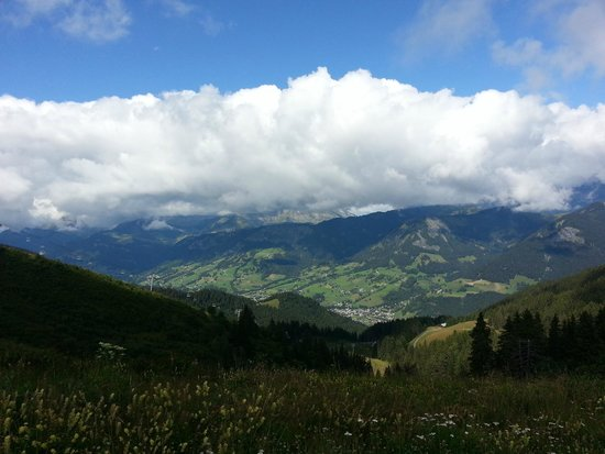Megeve Rochebrune Cable Car