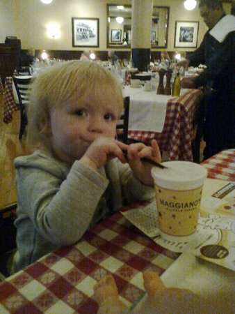 Maggiano's Little Italy: Annabella having lunch at Maggiano's