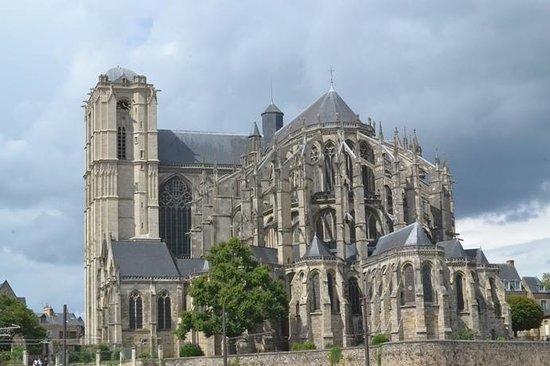 Cathédrale de Saint-Julien de Mans : Cathédrale Saint-Julien du Mans