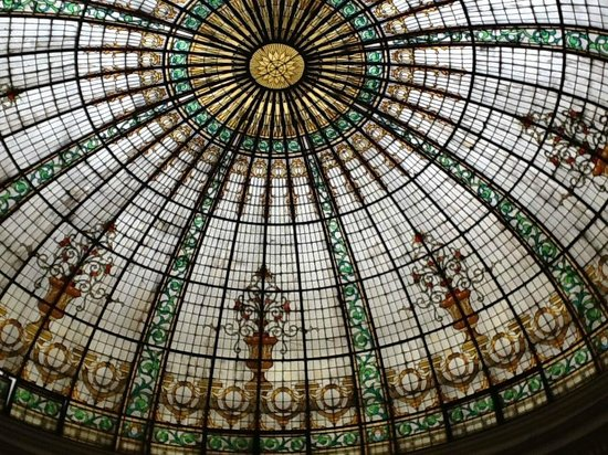 Gran Hotel Bolivar: Cupula