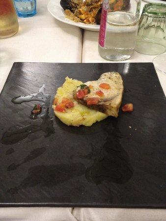 Trattoria da Carmelo : pesce spada con patate