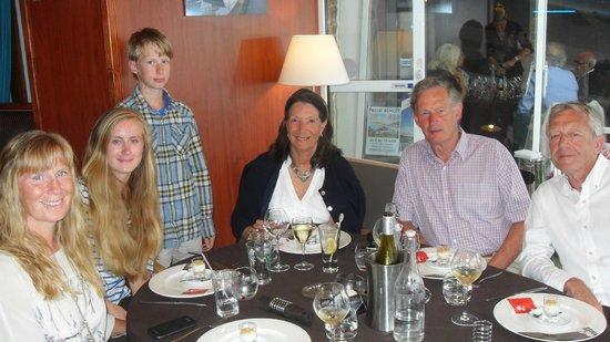 Restaurant des rochers : Child friendly!