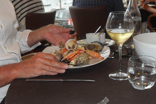 Restaurant des rochers : Fruits de mer