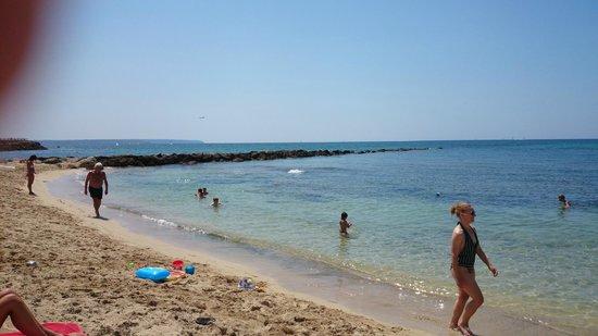 Playa de Palma, El Arenal : Melhor parte da praia