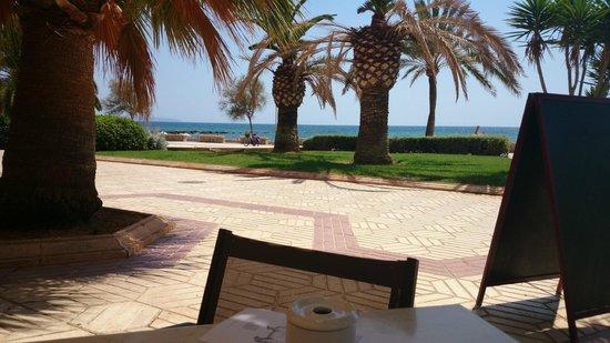Playa de Palma, El Arenal : Restaurante em frente