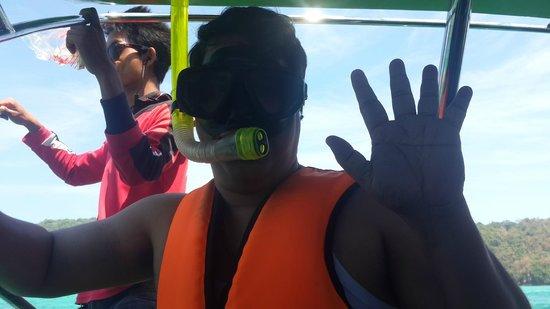 Railay Beach: snorkeling