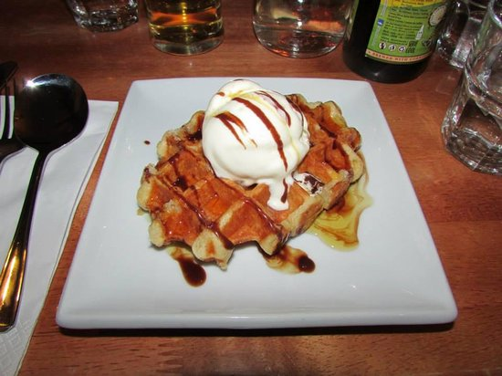 The Shed: Delicious desert