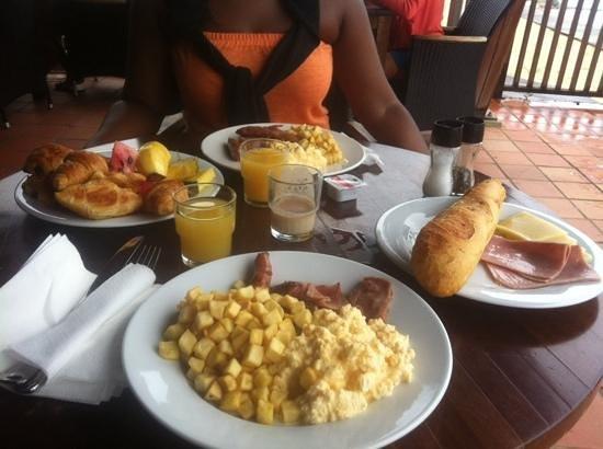 Langley Resort Hotel Fort Royal Guadeloupe: brunch