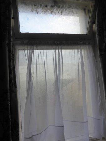 Waterford Lodge Hotel: shabby windows