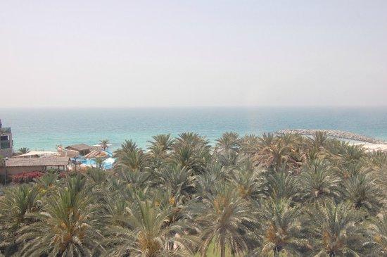 Coral Beach Resort Sharjah: Вид из окна номера