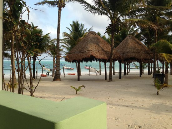 Hotel Akumal Caribe: From our hotel room