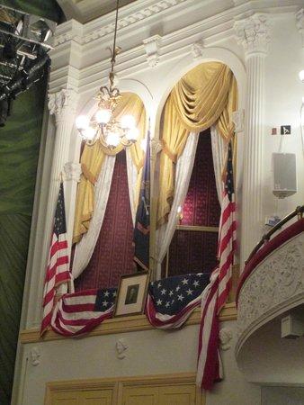 Ford's Theatre : Presidential Box