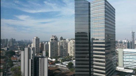 Grand Hyatt Sao Paulo: Vista do Lounge