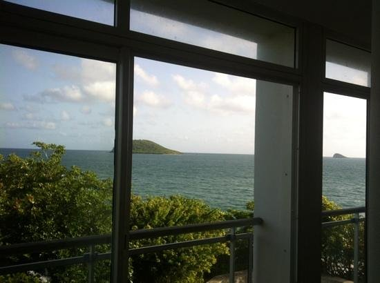 Langley Resort Hotel Fort Royal Guadeloupe: vue de la chambre