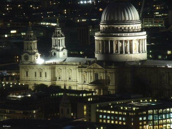 Shangri-La Hotel, At The Shard, London: St.Pauls' Cathedral