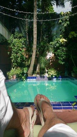 Towne Hotel: pool of 3 by 6 meters