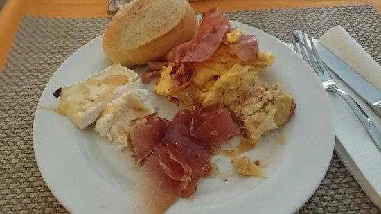 Colazione salata hotel riviera