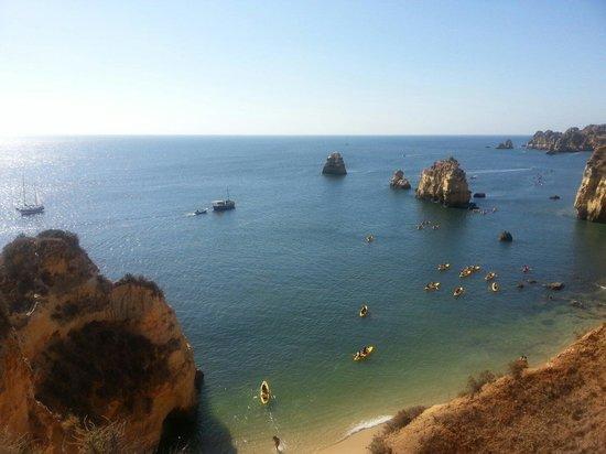 Praia do Pinhao : Praia com uma enorme variedade de belas cores
