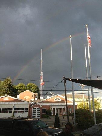 High Tide Inn: Rainbow over Camden