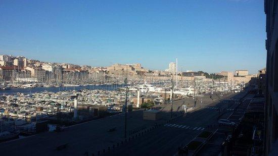 Hôtel La Residence du Vieux Port : View from our room