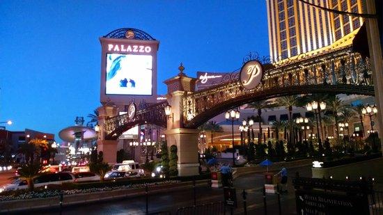 The Palazzo Resort Hotel Casino: The Palazo.