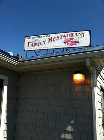 The Blue Bird Ranch Restaurant: A Sign That's Hard to Miss!