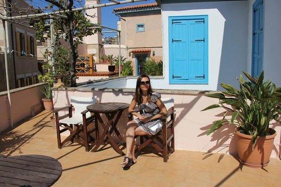 Amphora Hotel: Балкон
