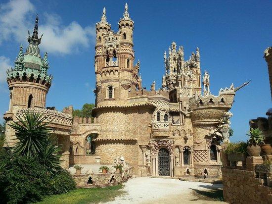 Castillo de Colomares: Zamek jak z bajki