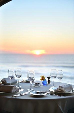 Fortaleza do Guincho : View from restaurant sunset
