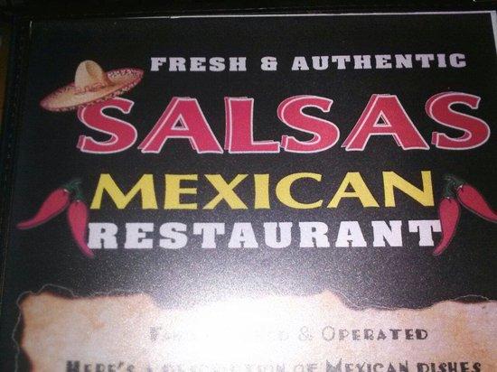Salsas Mexican Restaurant: Now open