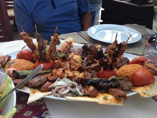 Otantik Grill: mixed grill, fantastic food