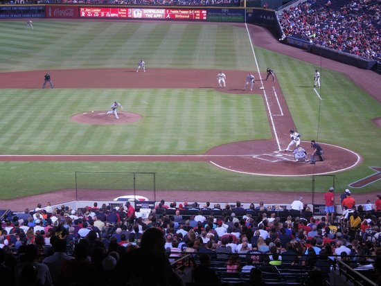 Turner Field : A's vs. Braves, August 2014