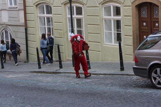 Nerudova Street: ***