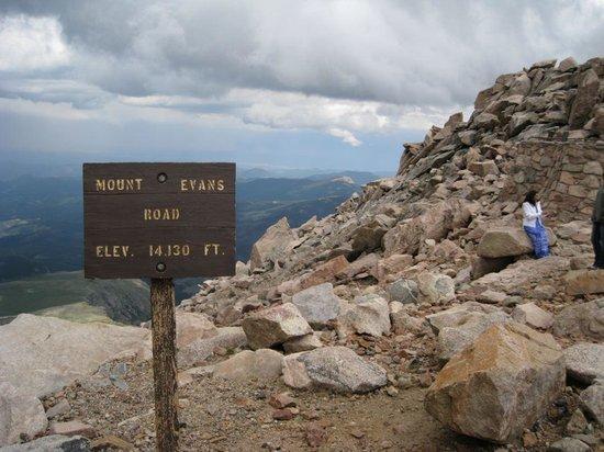 Mount Evans: Top of Mt Evans
