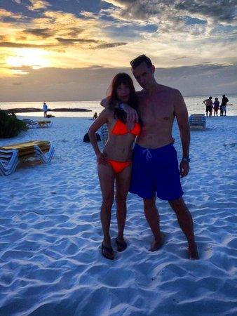 SUNSET on Playa Norte