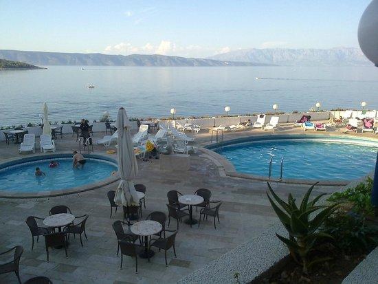 Adriatiq Resort Fontana: вид из ресторана