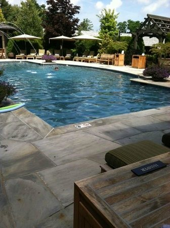 Old Edwards Inn and Spa : Love the Mineral Pools