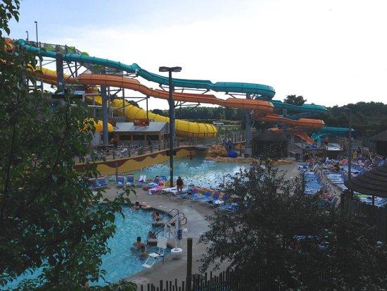 Kalahari Resorts & Conventions: outdoor water park