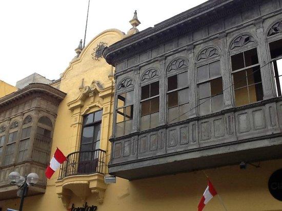 Centro histórico de Lima: Balcones de lima