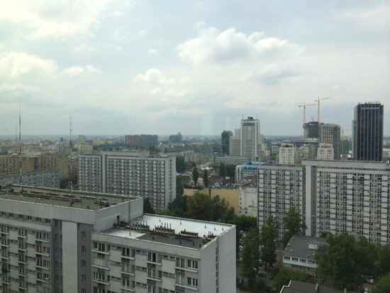 The Westin Warsaw : Vue depuis l'Executive Lounge