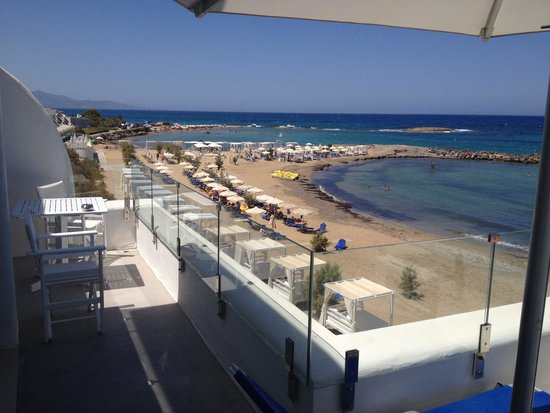Knossos Beach Bungalows & Suites : View from our suite