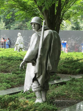 Korean War Veterans Memorial: Soldier