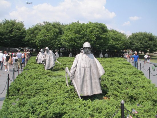 Korean War Veterans Memorial: Soldiers