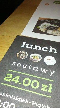 Sushi Corner: menù pranzo