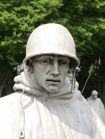 Korean War Veterans Memorial: Face