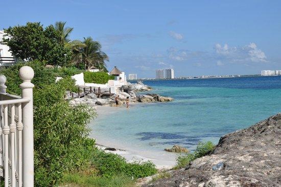 Hotel Riu Caribe : plage