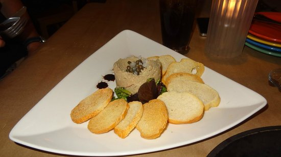 Jackie's on Corey Bistro & Catering: Pate' starter - wonderful