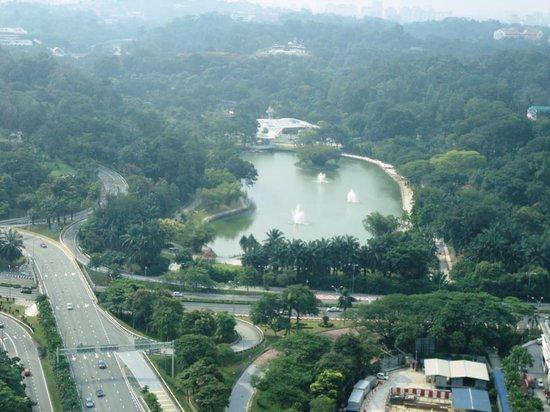 Hilton Kuala Lumpur: A view from Hilton Room